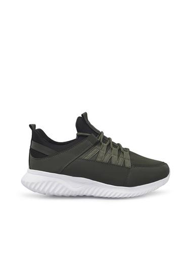 Slazenger Erkek Abel Sneakers SA11RE220 Haki